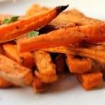Sweet Potato Yam Fries Air Fried