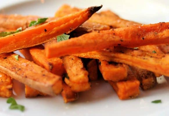Sweet Potato Yam Fries Air Fried