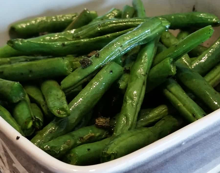 air frying green beans