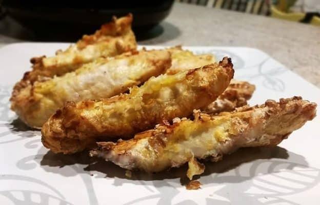air fried chicken tenders, Cajun style