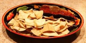 tortilla chips air fried