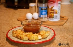 air fryer mozzarella sticks