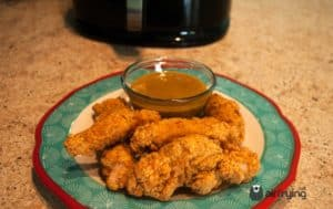 frozen chicken strips in air fryer
