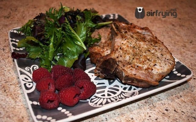 pork chops in air fryer