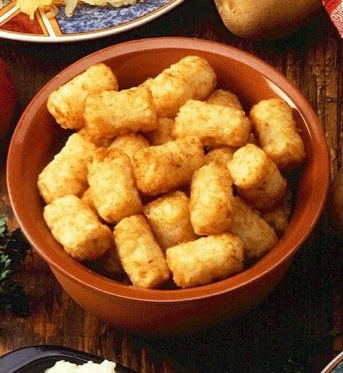 cooking tater tots in air fryer