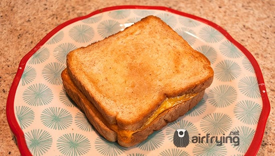 airfryer grilled cheese