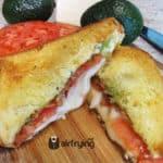 Tomato Avocado Bacon Grilled Cheese