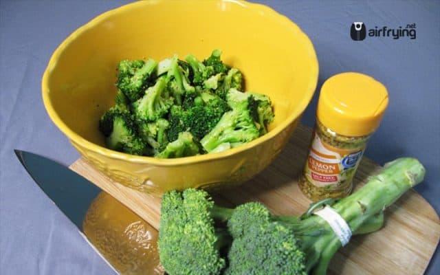 Air Fryer Broccoli With Lemon Pepper Air Fryer Recipes Reviews Airfrying Net