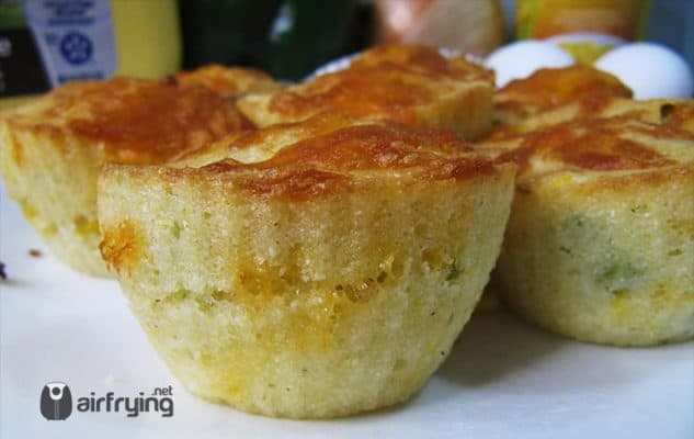Cornbread Muffin Air Fried Recipe