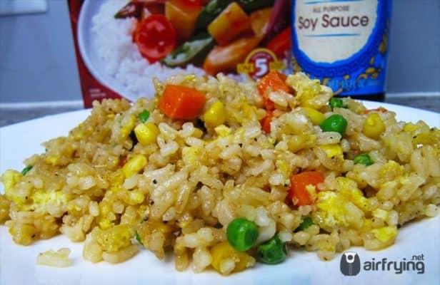 Air Fryer Fried Rice Recipe