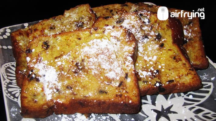air fryer french toast recipe