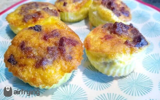 Air Fryer Muffin Quiche Logo
