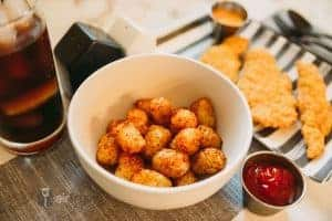 air fryer air fried tater tots