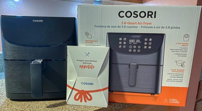 cosori 5.8 quart air fryer