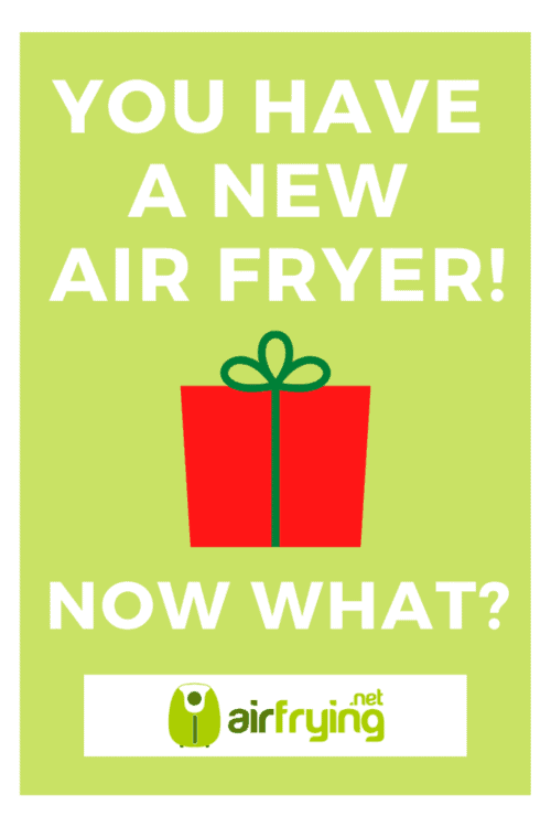 Getting started with your new air fryer