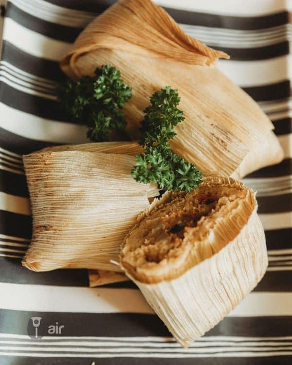 air fried tamales